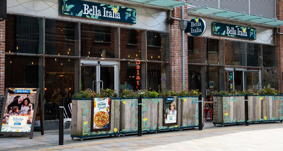 Bella Italia mockup
