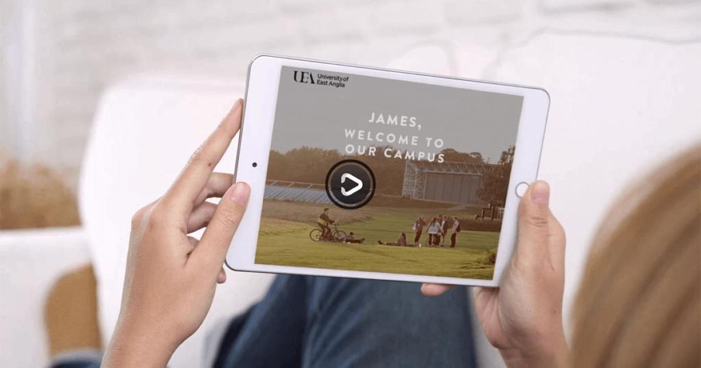 UEA Personalised Video